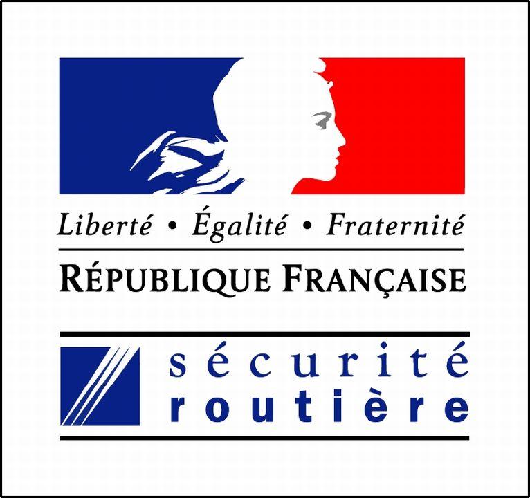 logos des ministères de la sécurité routière