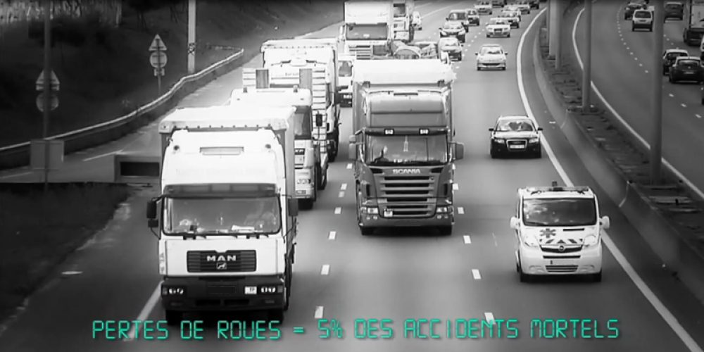 Les pertes de roue affectent l'industrie du transport routier !